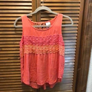 Flowy tank from Francesca's size small